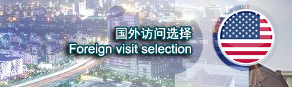 Foreign visit selection 国外访问选择